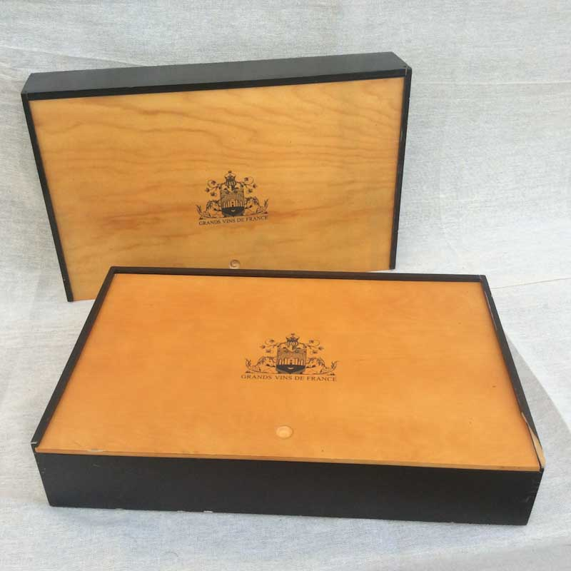Pair of French Wine Boxes