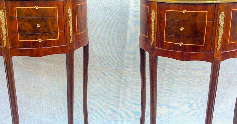 """Pair of Reproduction """"French Style"""" Bedside Cabinets"""
